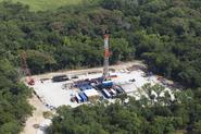 Gas drill rig